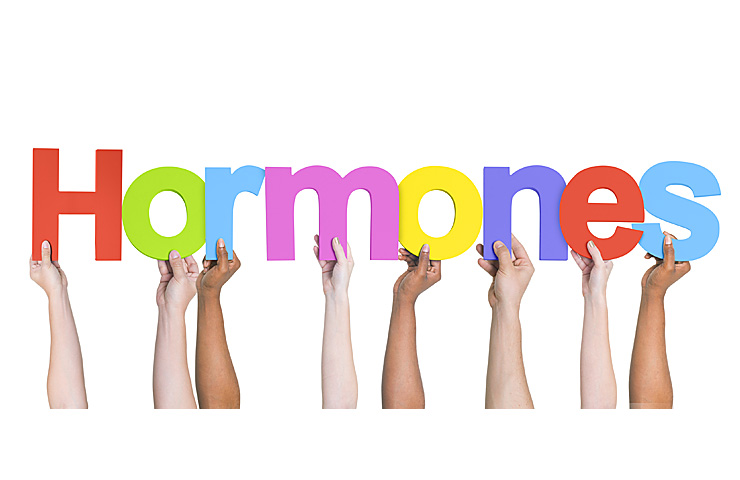 Hormonal changes related to age