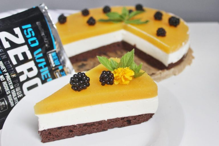 Low calorie cheesecake