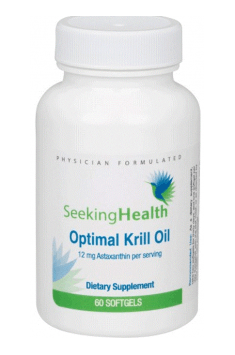 Optimal Krill Oil from Seeking Health - as the name of this dietary supplement, it's just an optimal choice to supplement Krill Oil!