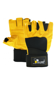 The highest quality training gloves with special system improving grip strength. Very important in multi-joint exercises!