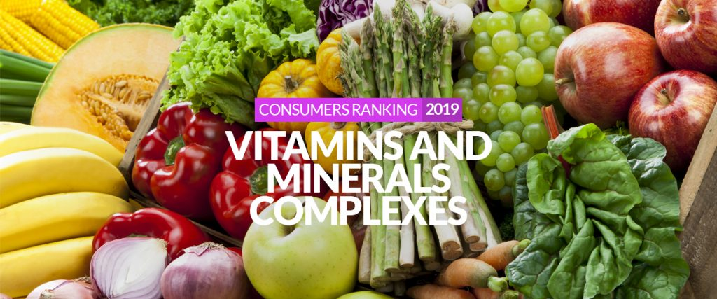 Best vitamins and minerals supplements