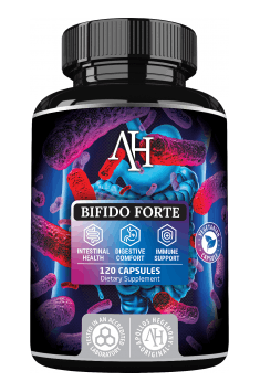 In case of SIBO, you can consider supplementation with probiotic complex of Bifidobacterium strains, . Then Bifido Forte from Apollos Hegemony should be the optimal choice!