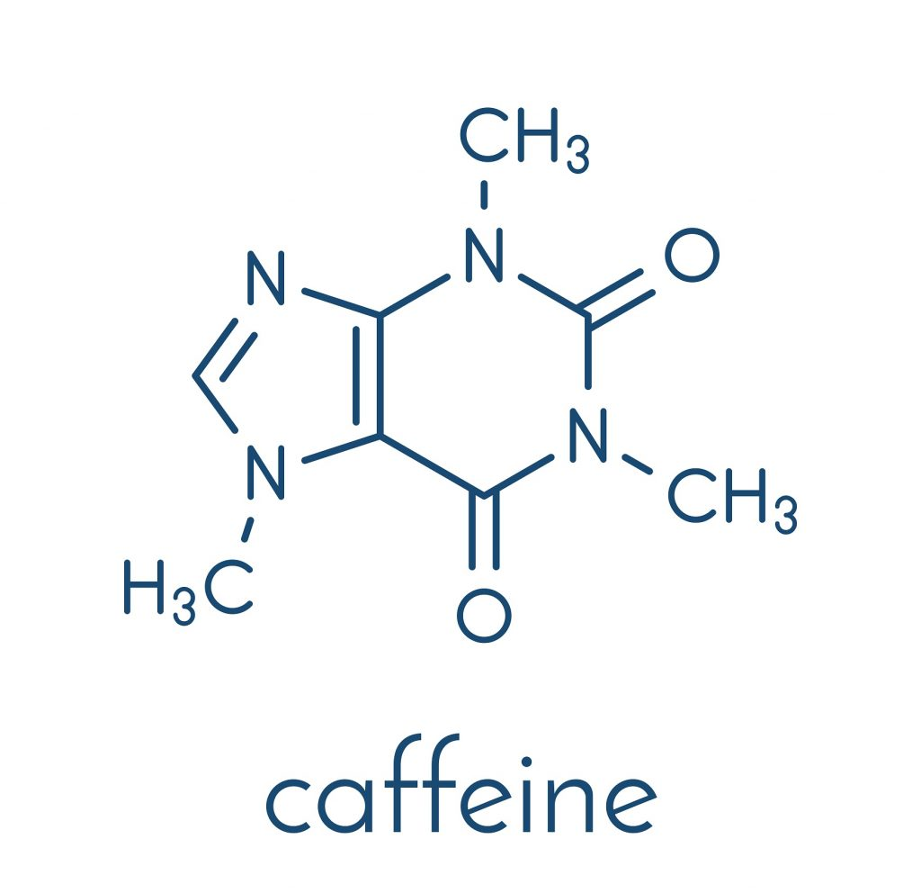 Caffeine - the most known and effective stimulant
