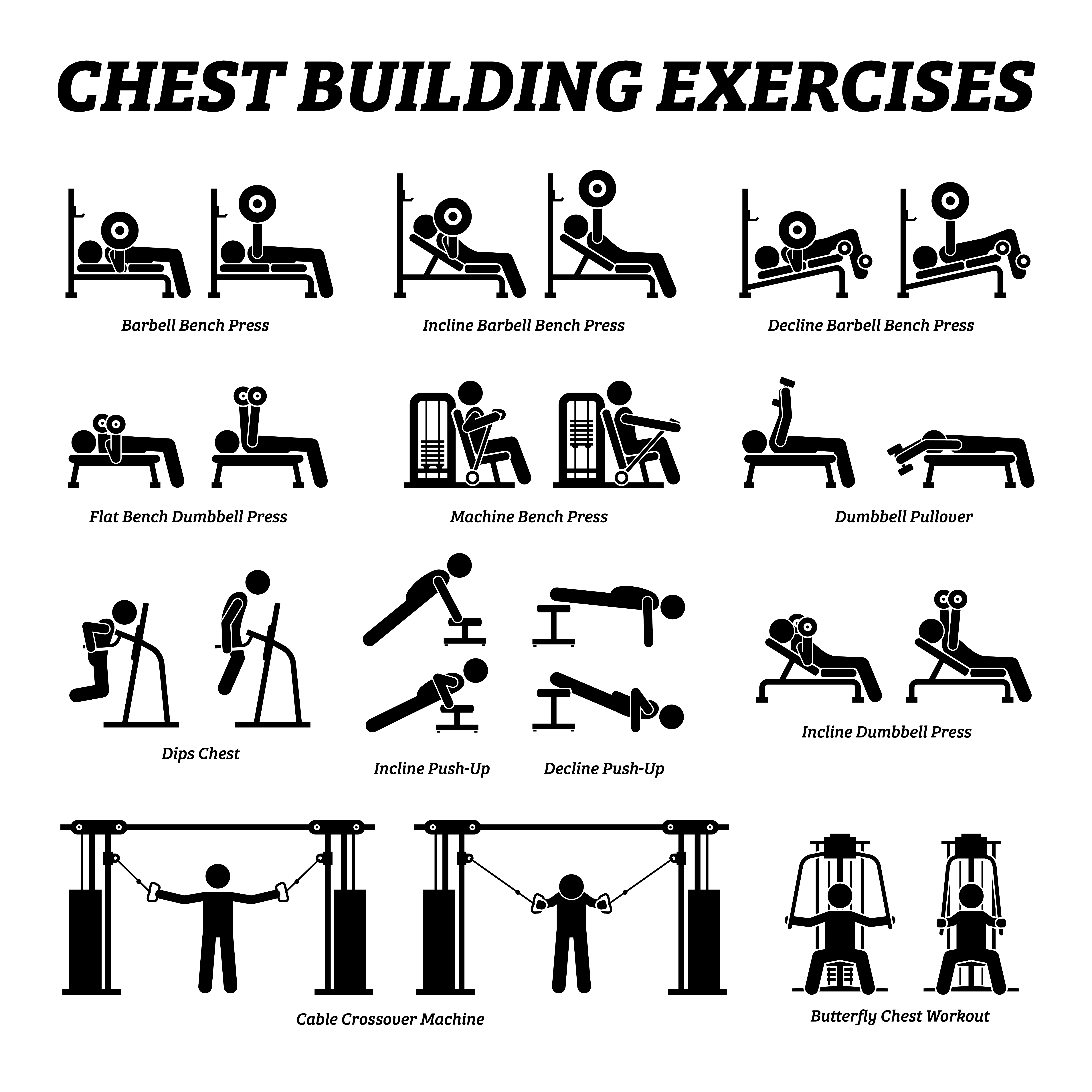 Chest dips can be an awesome exercises to add to your chest-workout routine!