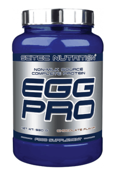 Recommended Egg protein supplements - Egg Pro from Scitec Nutrition. From our customers review, we can surely say that is the best tasting egg protein out there!