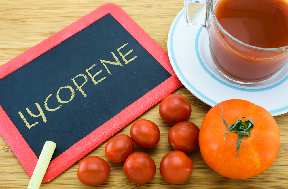You can find lycopene mainly in red food - tomatoes are the best example!