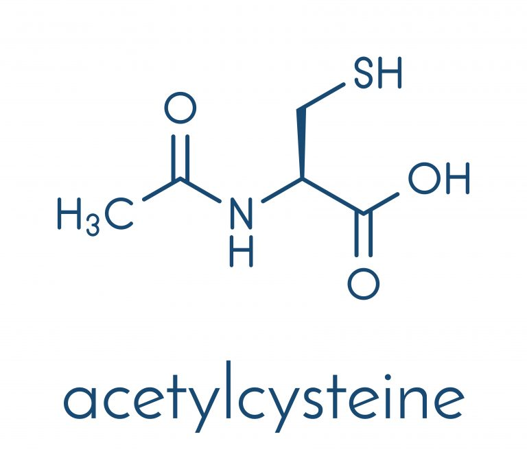 Lexicon supplementation N-acetyl-L-cysteine