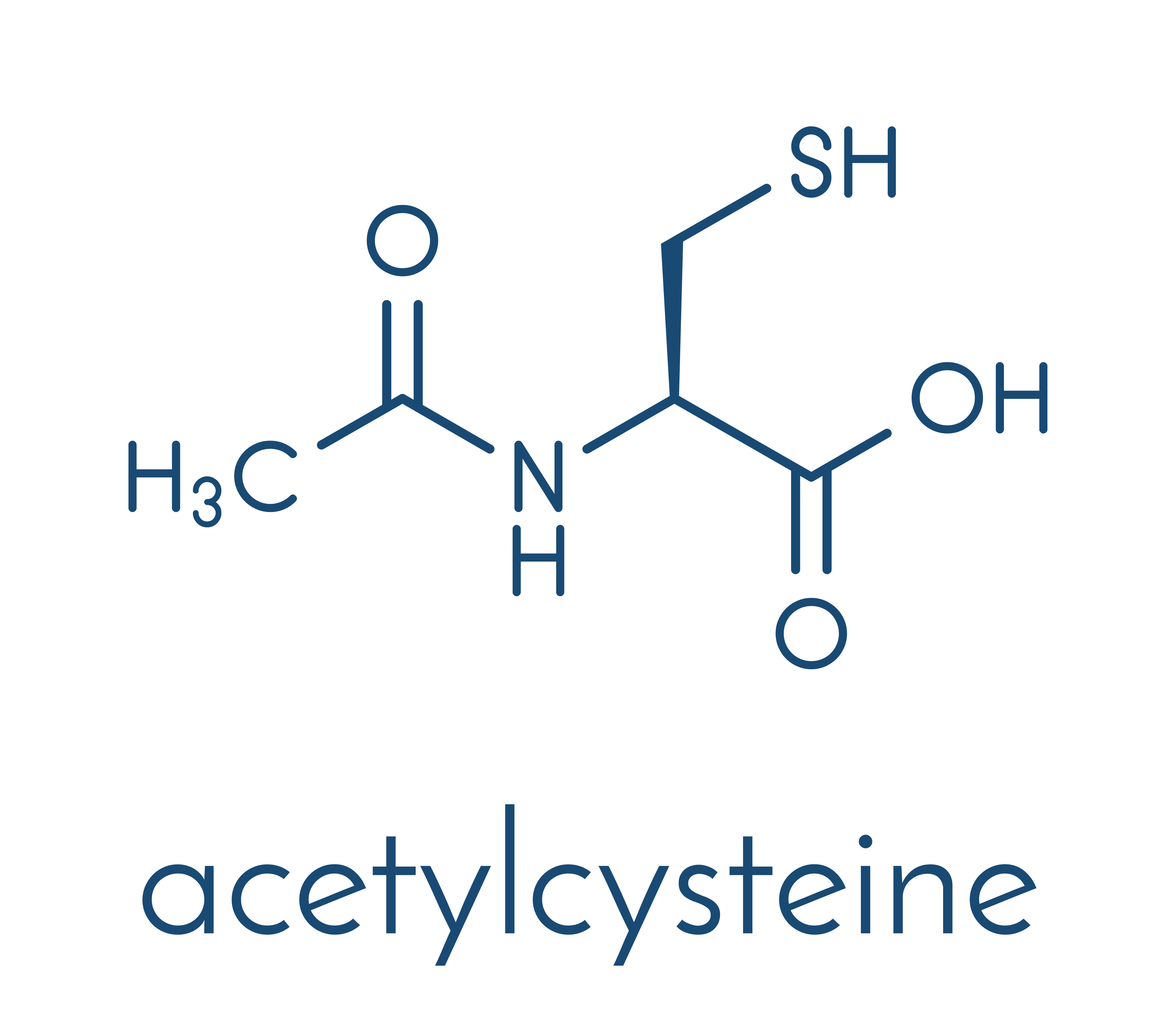 Chemical formulation of NAC
