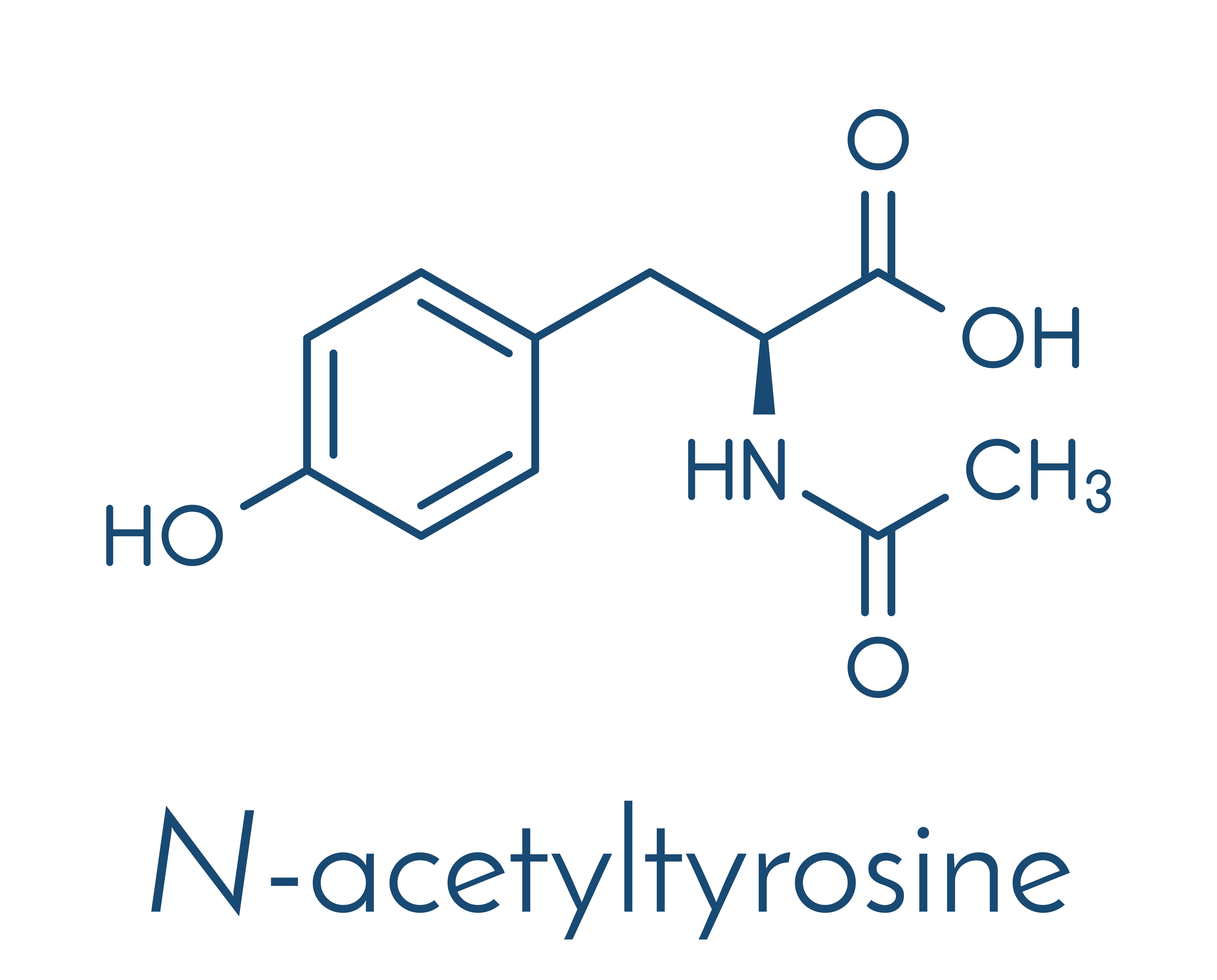 NALT (N-acetyltyrosine) - optimal form of tyrosine