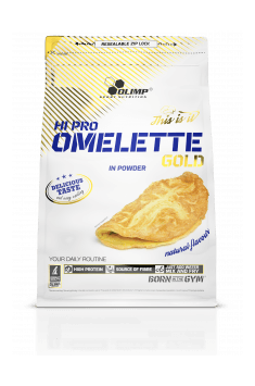 Hi-Pro Omlette from Olimp will be handy choice if you don't have much time for cooking - just mix some of it with water and cook it!