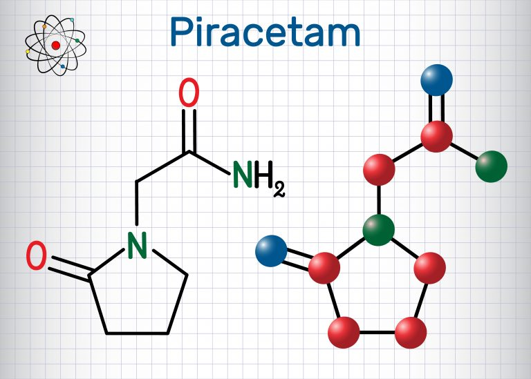 Piracetam - the most popular nootropic drug.