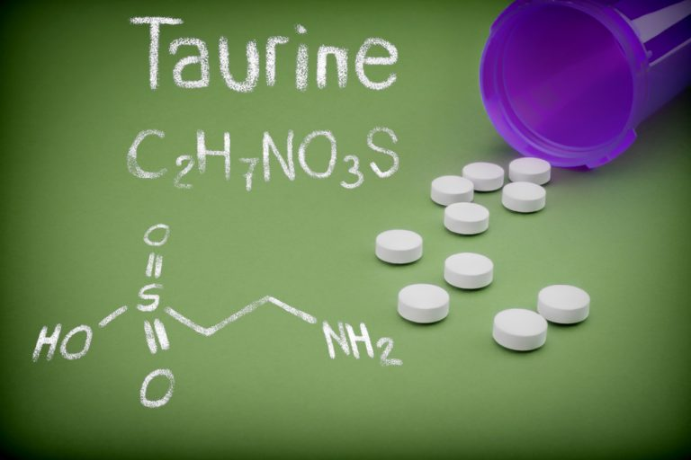 Taurine supplementation in multiple sclerosis