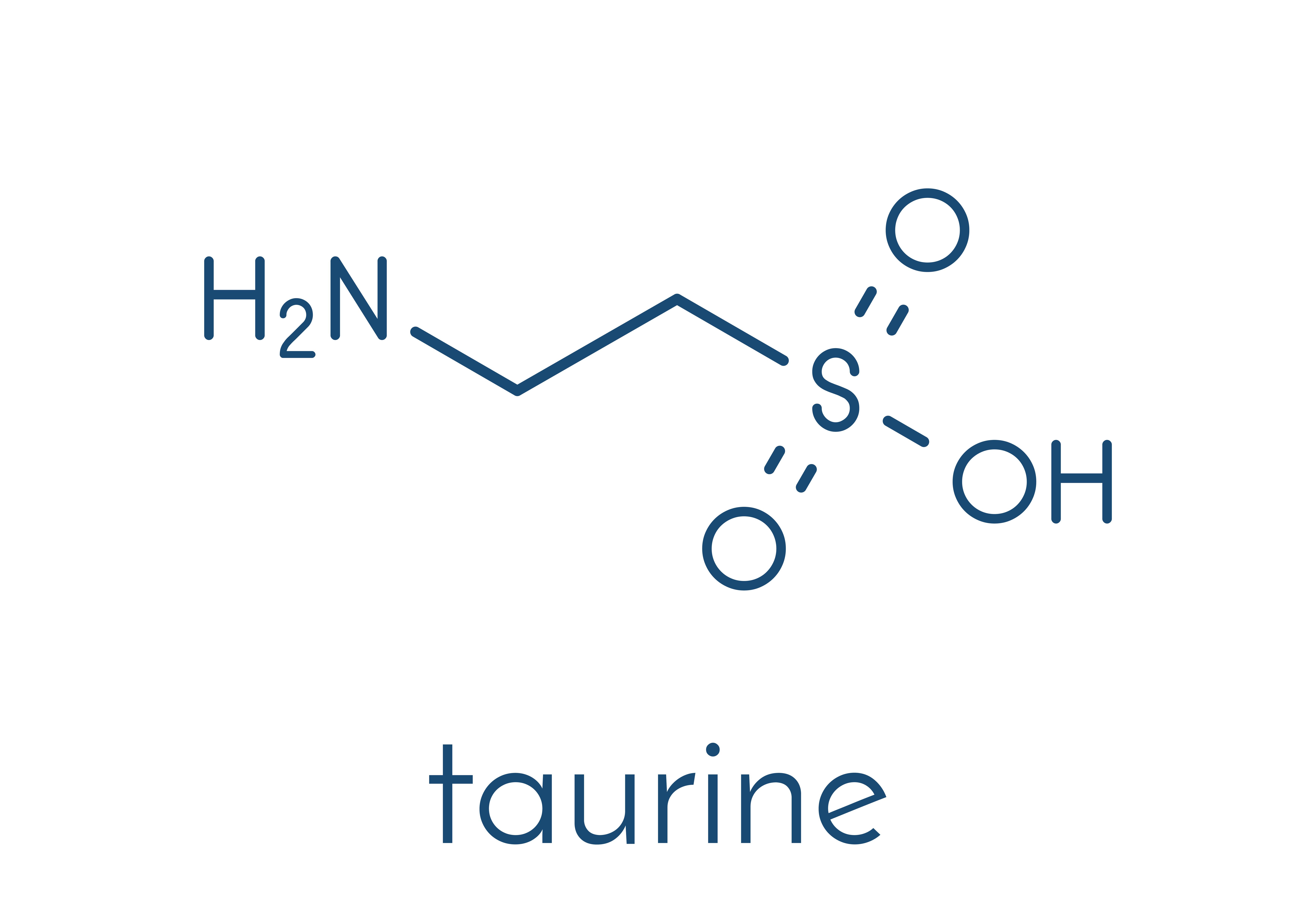 Taurine chemical formula