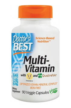 Doctor's Best Multi-Vitamin it's an complex of bioactive forms of vitamins and minerals, which will highly support your organism