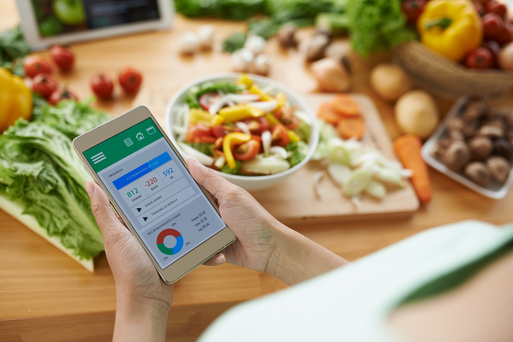 It is worth to keep track of what are you eating. For example with the use of specific apps on your phone!