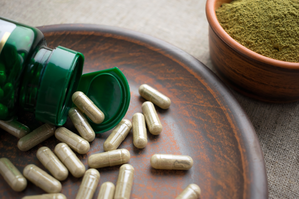 Green tea - capsules or powder? It doesn't matter! Green Tea is always awesome!