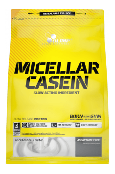 Micellar Casein from Olimp - Polish brand with nearly 30 years of experience on the market. Definite recommendation from our side!
