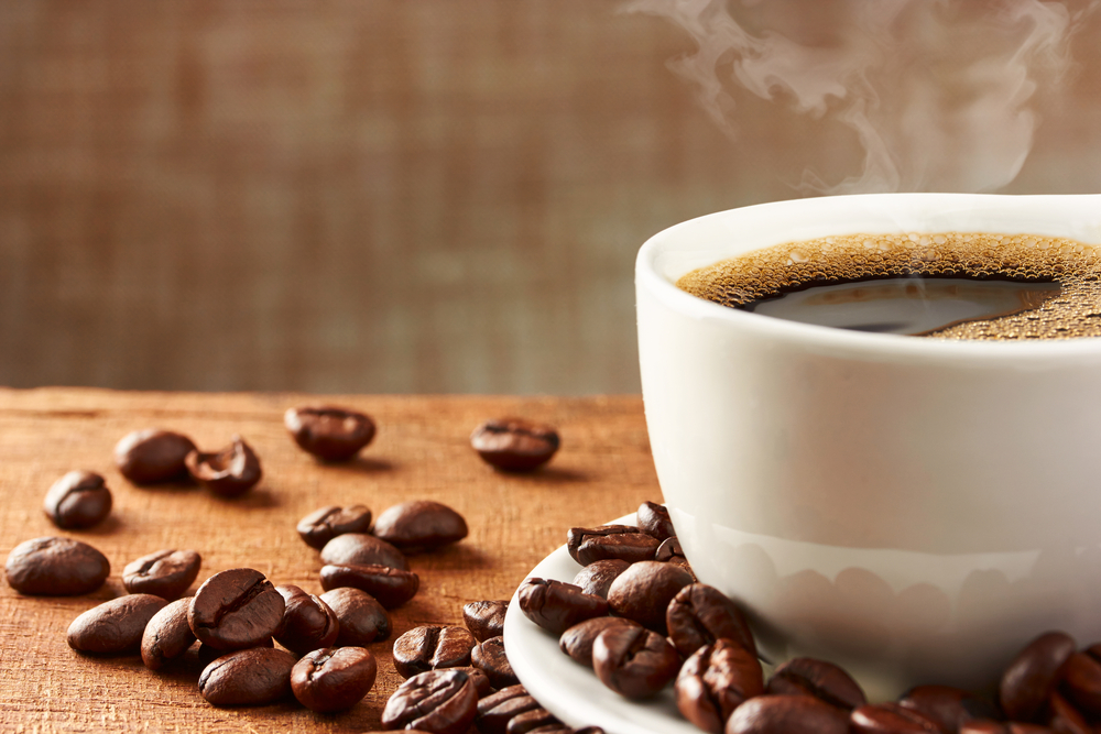 Raise your cup of coffee!