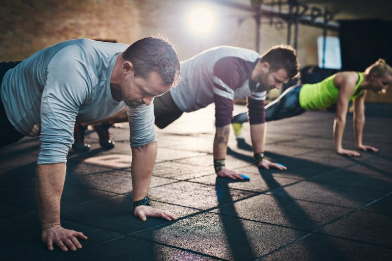 Push-ups – the most universal exercise ever?