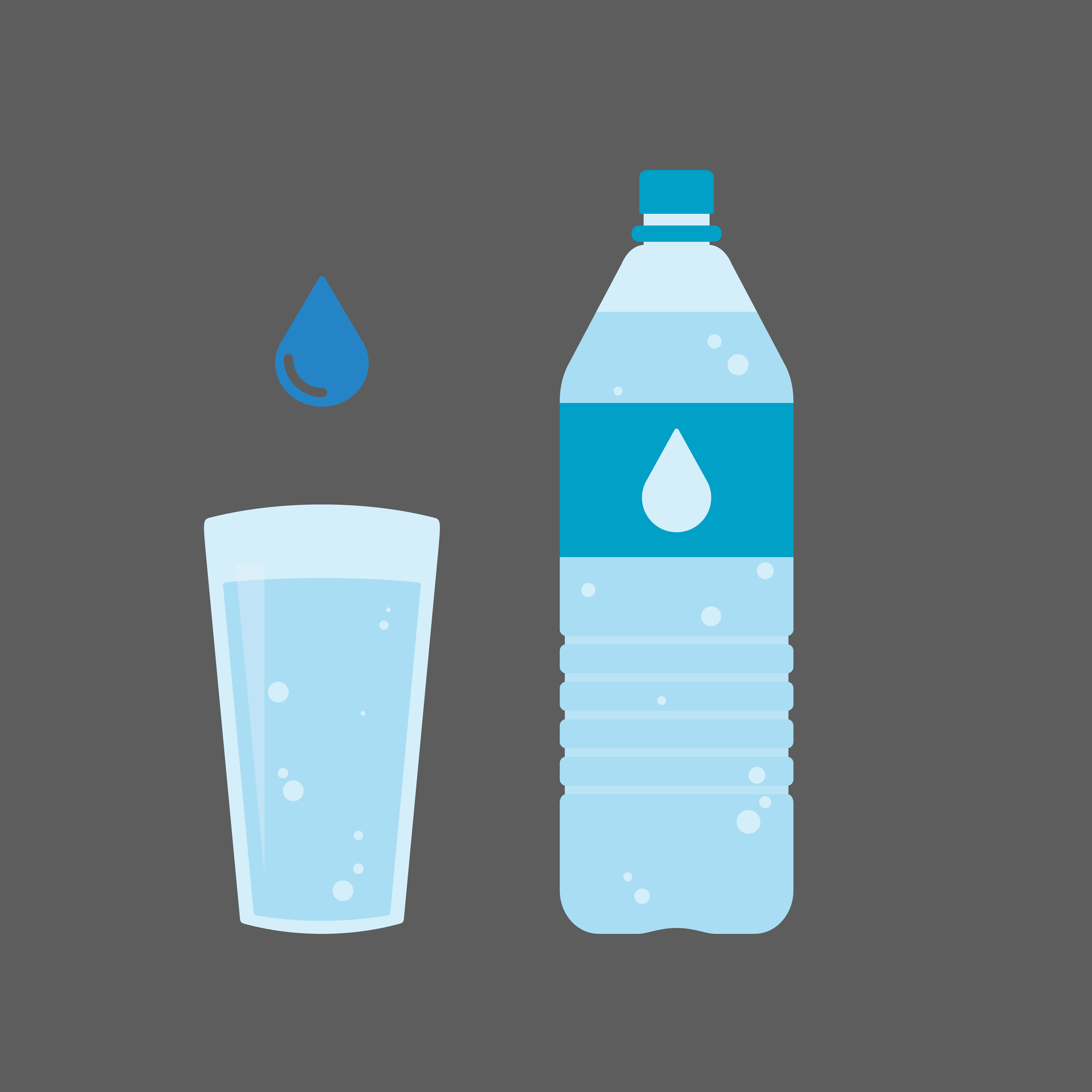 In terms of mineral water - the more minerals, the better!