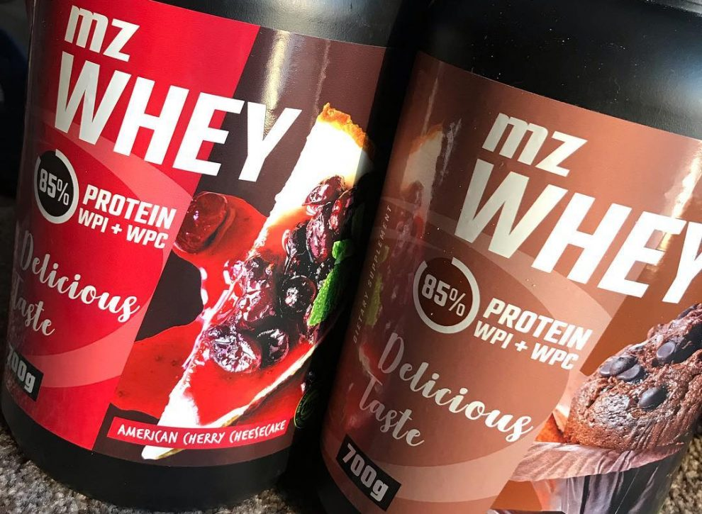 MZ Whey is combination of whey protein concentrate and whey protein isolate combined in form of tasty and clinically tested formulation!