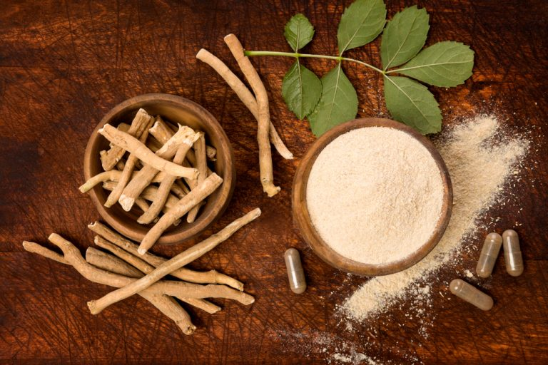 Ashwagandha helps to reduce stress and control weight