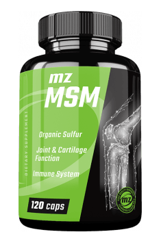 Optimal dose of MSM in low price - recommended MSM supplement - MZ Store MSM