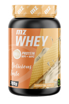 MZ Whey will be great way to increase your protein intake!