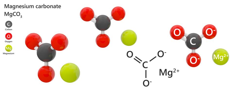 Magnesium carbonate - chemical structure