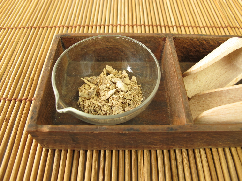 Natural dried root of Kava kava plant