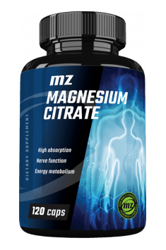 Recommended magnesium citrate supplement - MZ Magnesium Citrate