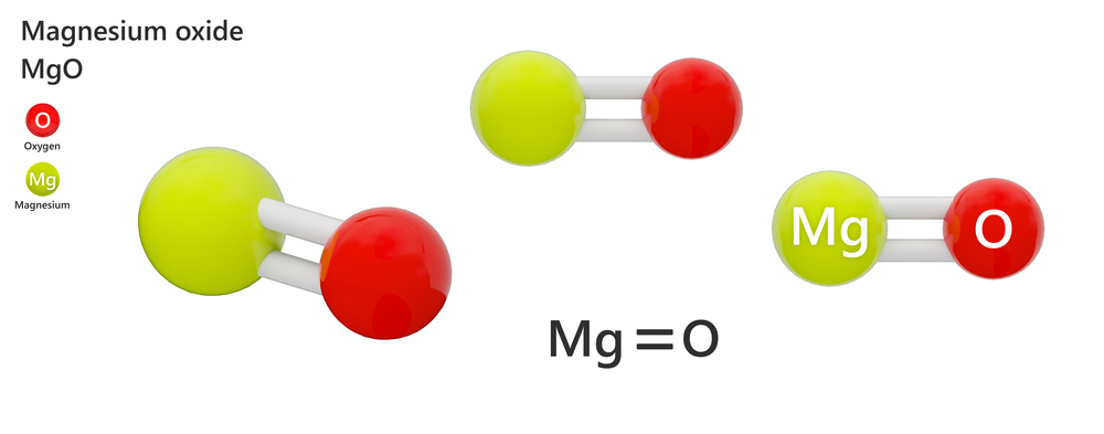 Magnesium oxide - chemical structure