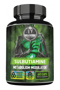 Recommended supplement containing the most potent derivative of thiamine - Sulbutiamine from Apollo Hegemony