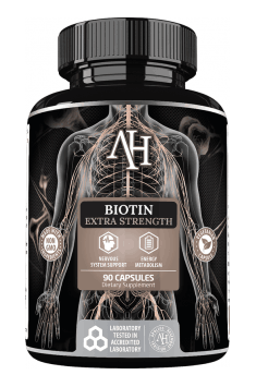 If you are looking for Biotin supplement, you can check Biotin Extra Strength from Apollo Hegemony. Why? Because it contains 100mg of Biotin, where other supplements contain even to 100 times less of Biotin in them!