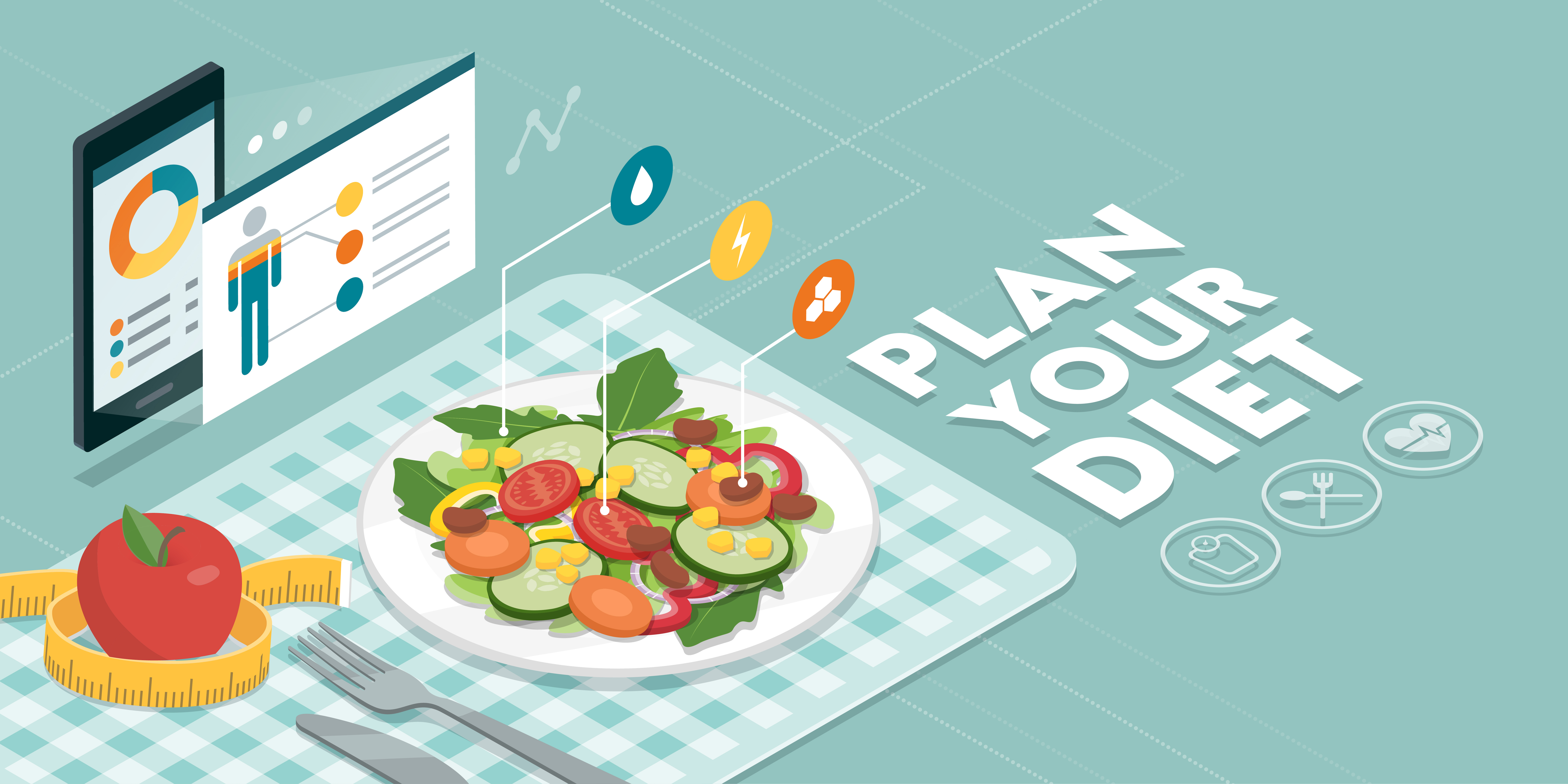 You should plan your diet and meals, to take care about amount of eaten calories!
