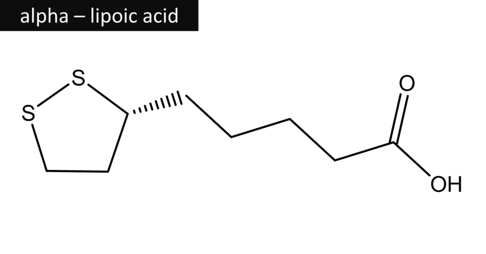 Alpha lipoic acid chemical formulation