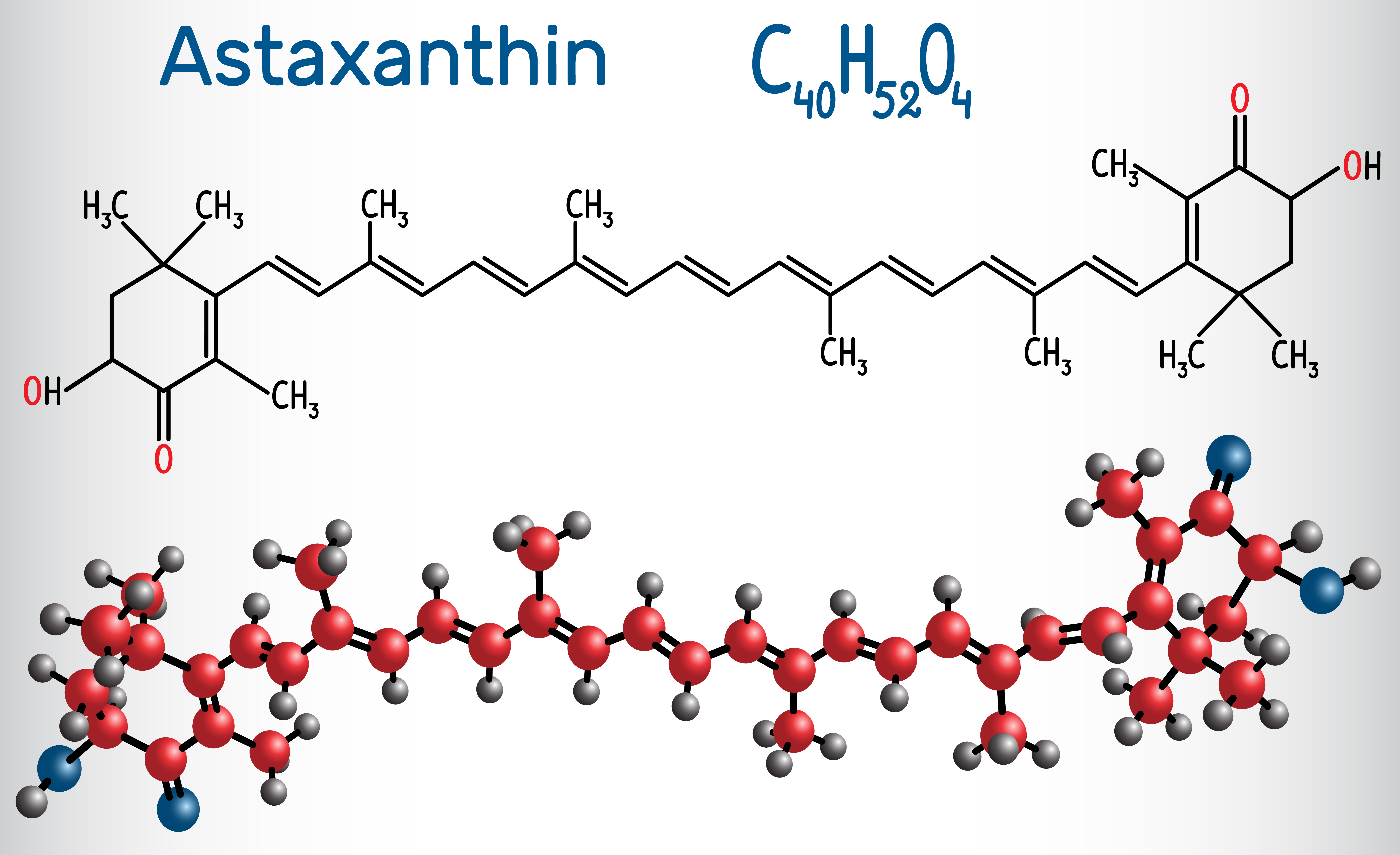 Astaxanthin chemical formulation