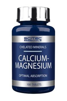 Calcium and magnesium combination in one supplement - Calcium-Magnesium from Scitec Nutrition