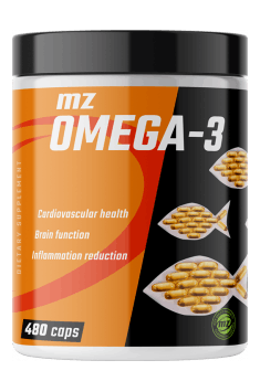 If you plan a long term Omega-3 supplementation, with MZ Omega 3 you have 1,5 year of supplementation for 20 bucks! Great deal, isn't it?