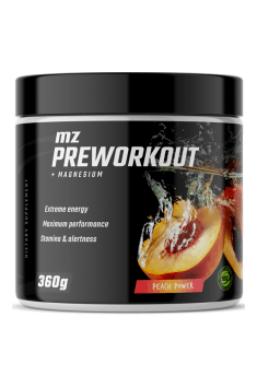 Looking for simple and effective pre-workout? Preworkout from MZ Store to the rescue (yes, that's our pre-workout!)