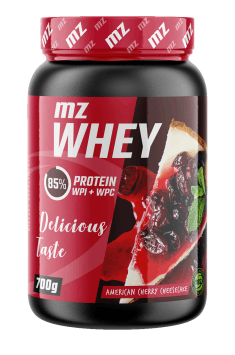Author's recommendation of whey protein