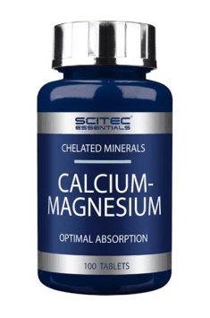 A combination of Calcium and Magnesium in one supplement!