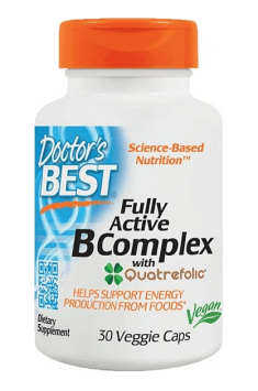 Fully Active B Complex is supplement containing whole range of B Vitamins in theirs active forms!