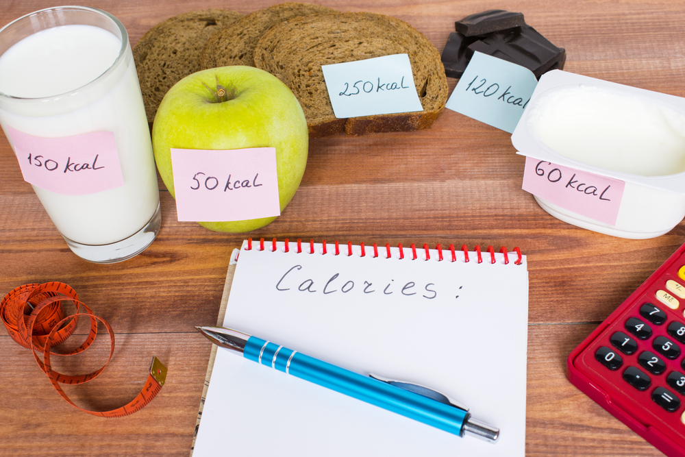 It's worth to get aware how much calories you are eating!