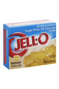 Looking for sugar free alternatives for jelly? Jello-O is the answer!