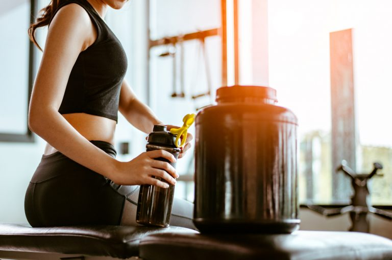 What supplements should be taken during exercise?
