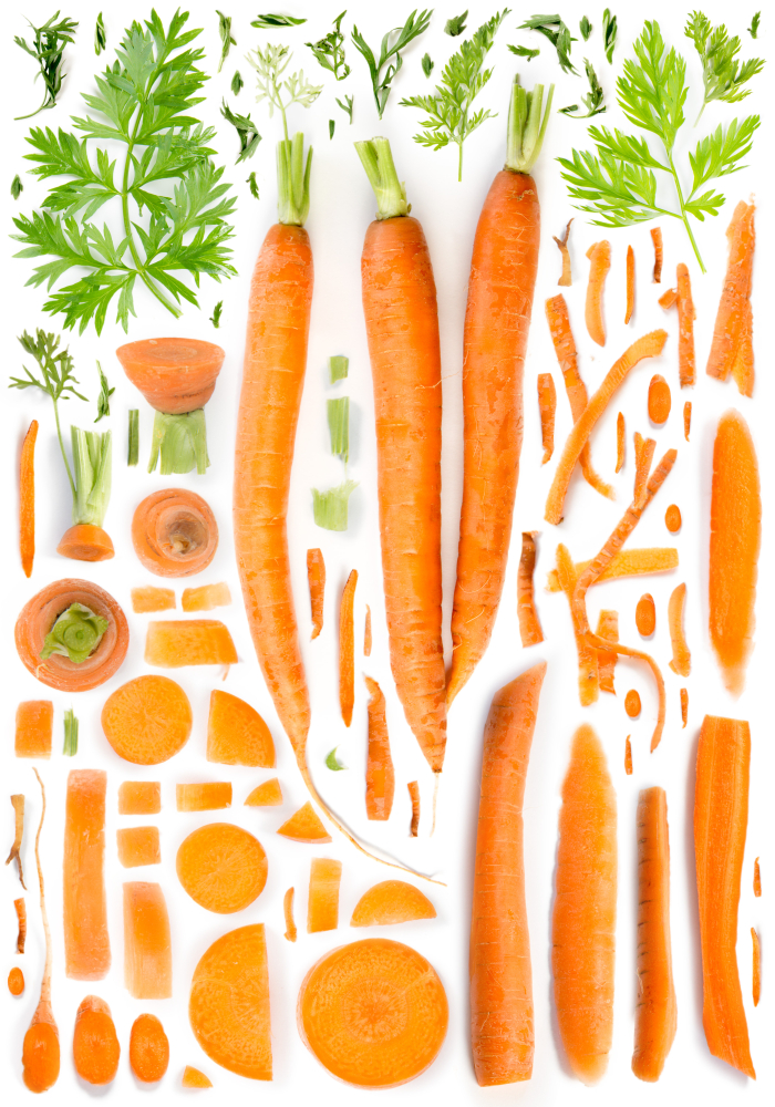 which vitamin is present in carrot