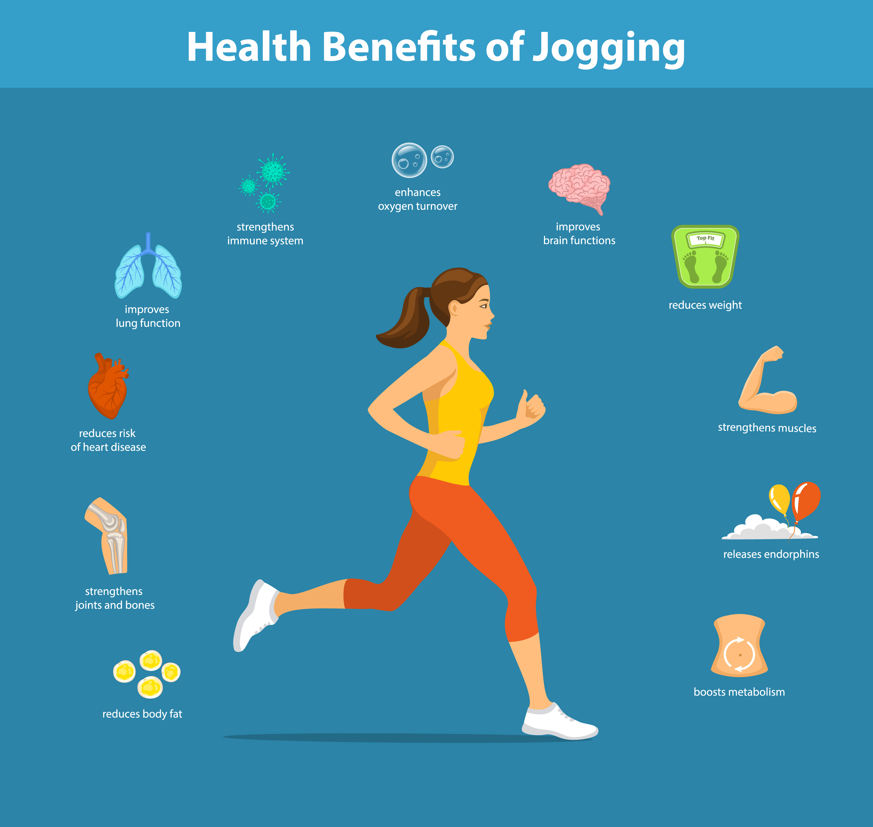Remember that cardio is not only an unpleasant necessity. It brings a lot of health benefits!