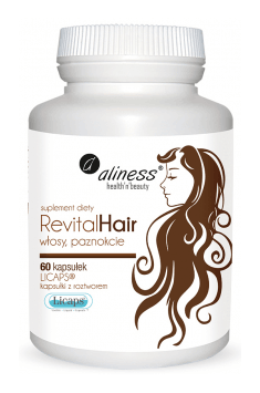 Revital Hair will improve not only your skin, but also hair and nails quality!