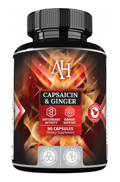 Capsaicin & Ginger is the set of the most potent antioxidants, which can highly reduce headache symptoms!